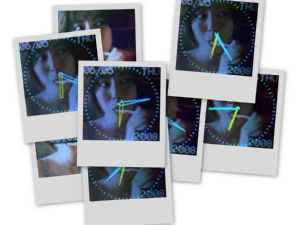 Collage of the Digital Photo Frame